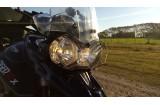 Cubre óptica Triumph Tiger 800 (Transparente)